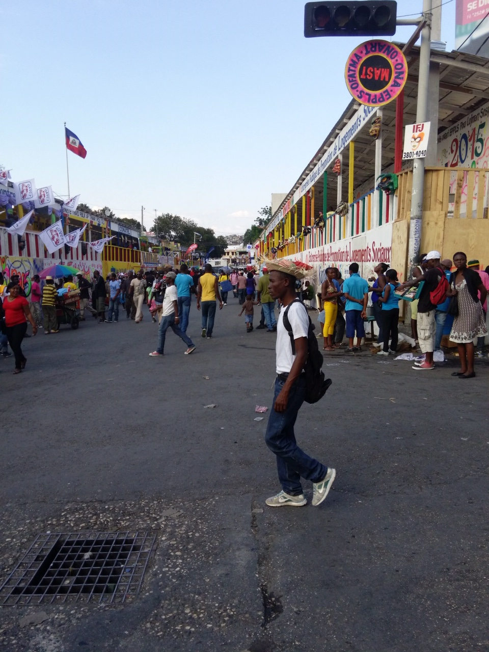 Haitian Carnival stands (2015)