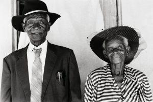 Elderly couple (1970's)