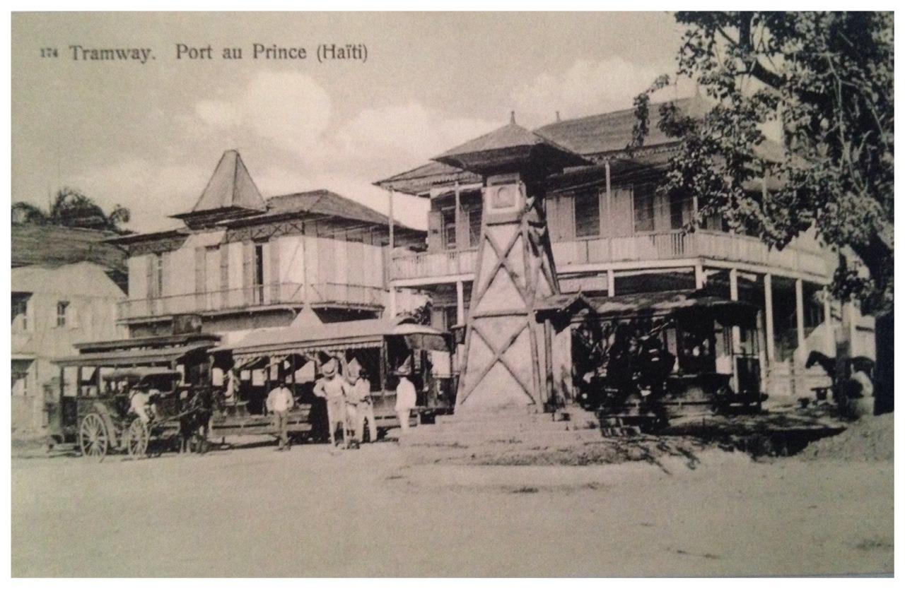 Tramway Port au Prince (1910)