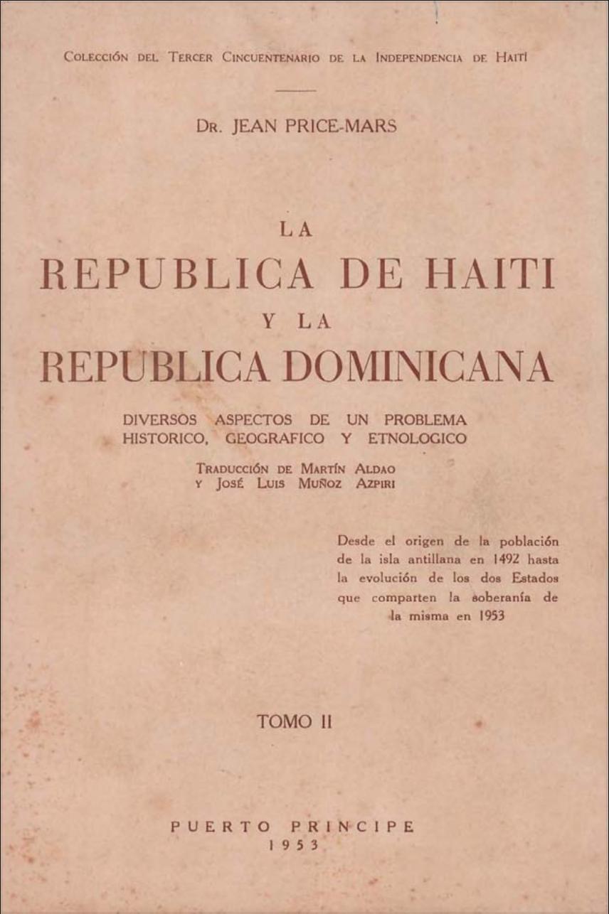 La República de Haití y la República Dominicana