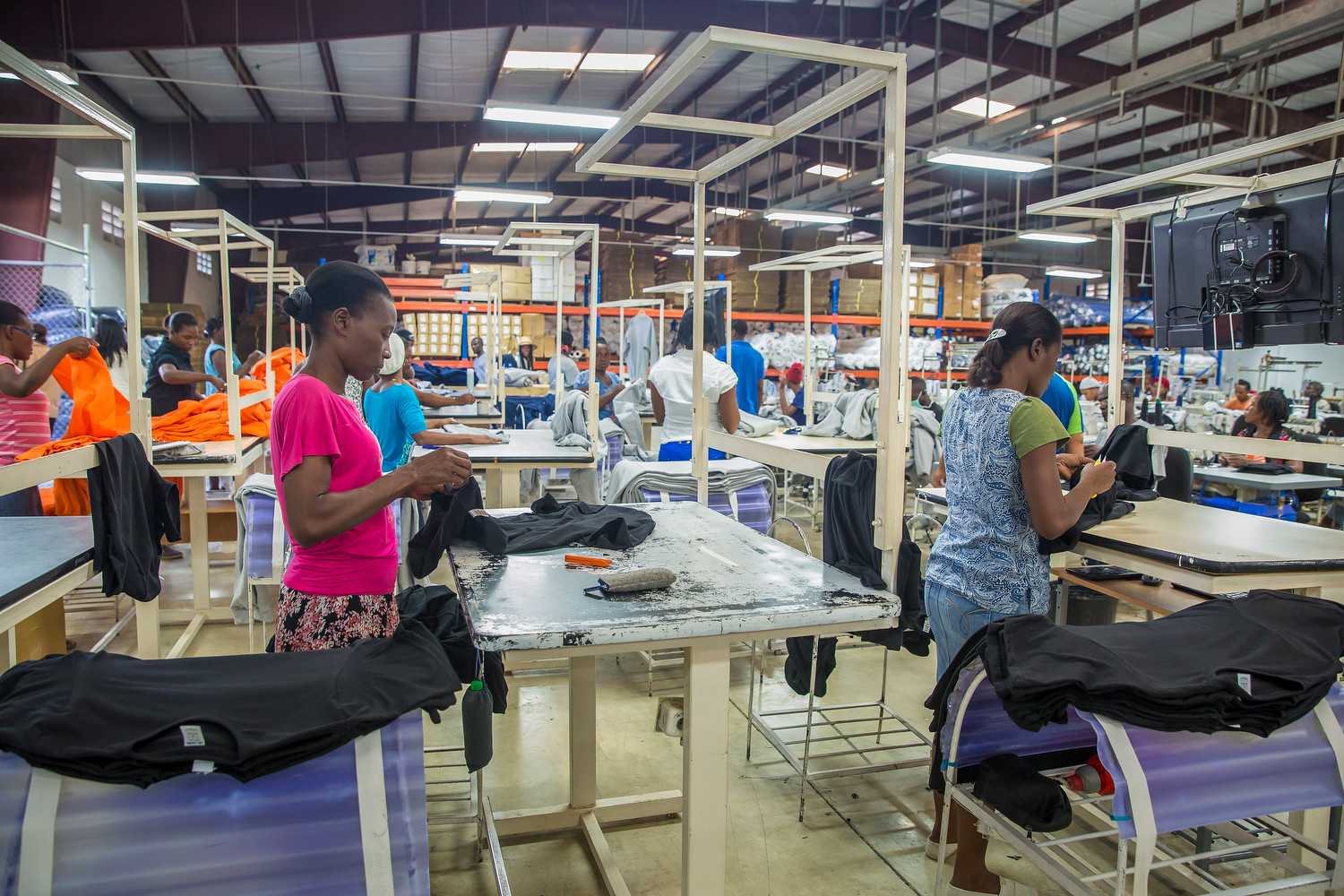 Haiti fashion factory
