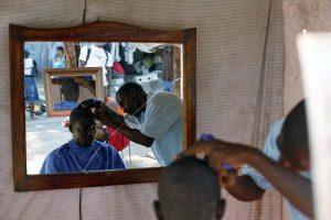 Makeshift Barbershops