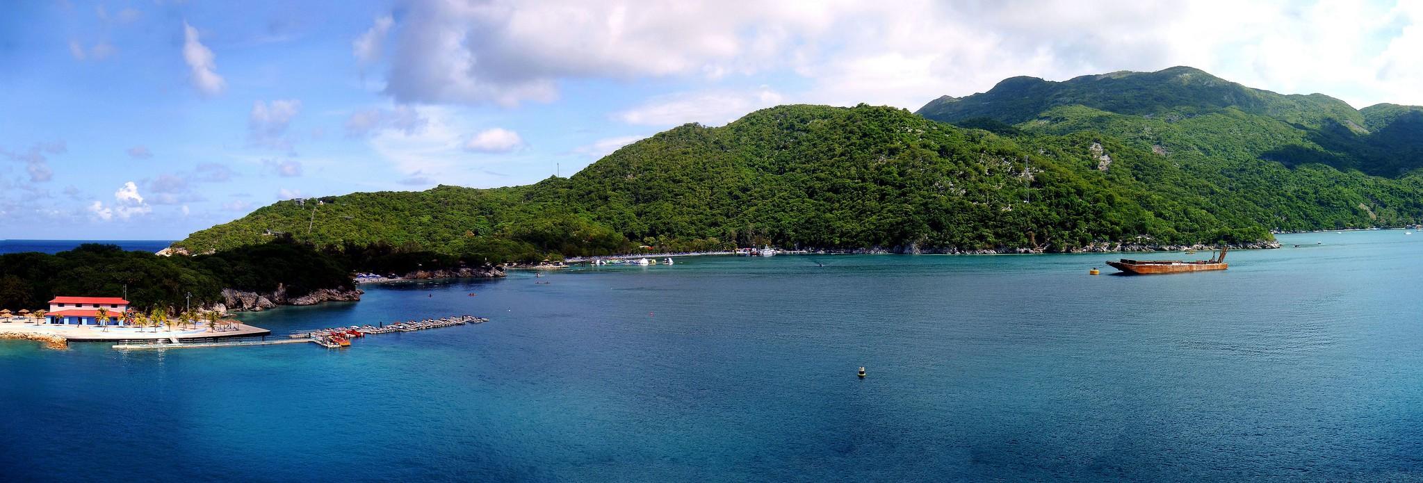 Labadee, Haiti panorama