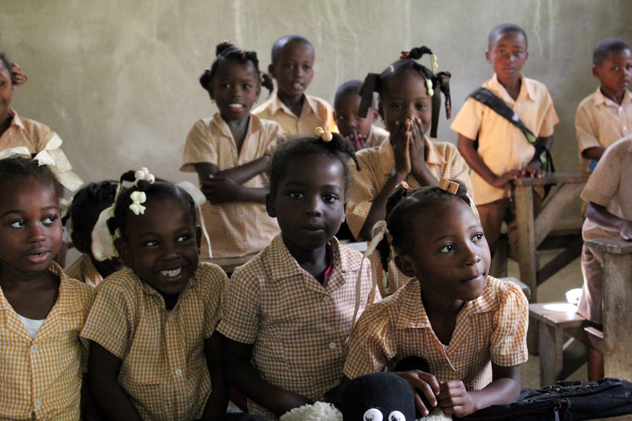 Primary School Children in Hinche