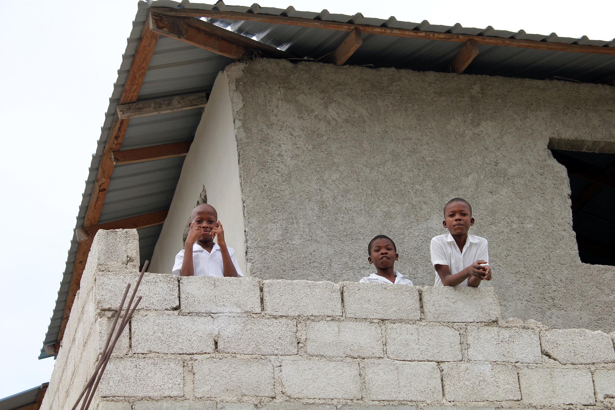 Schoolboys, Port au Prince