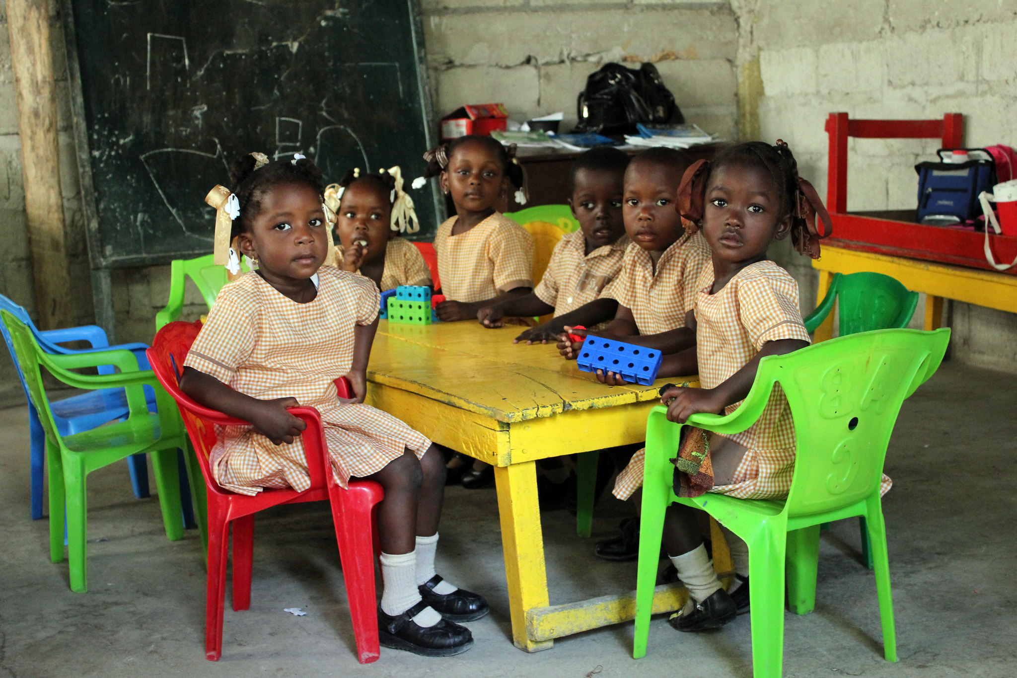 Pre-primary school children