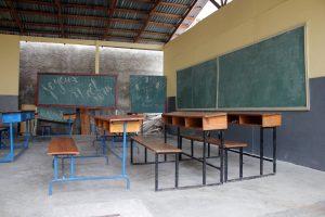 Classroom in Haiti