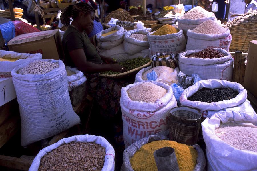 Public Market in Haiti