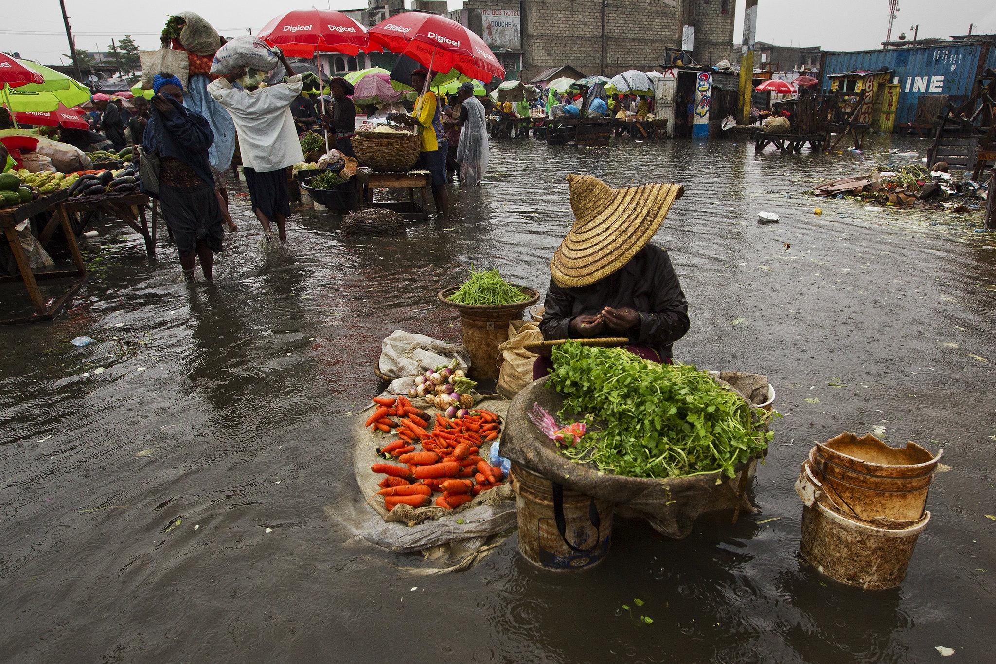Port au Prince flooding