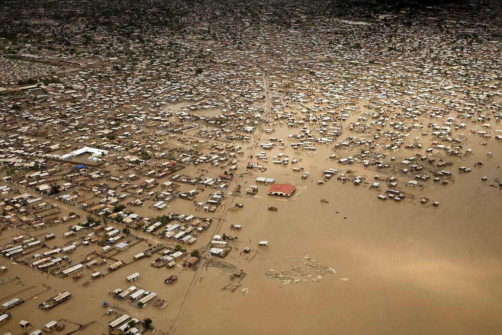 "Haitian Village Devastated by Tropical Storm ""Hanna"""
