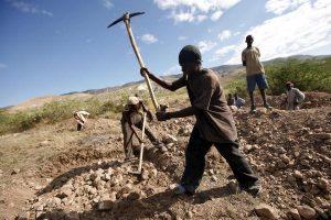 Haitians Dig Mass Graves Outside Port-au-Prince
