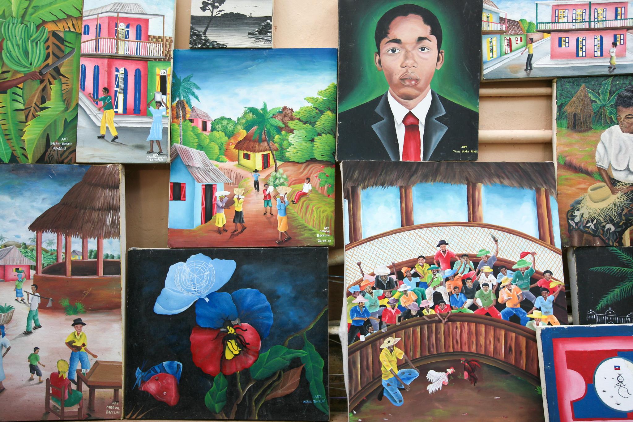Art Work in Haiti