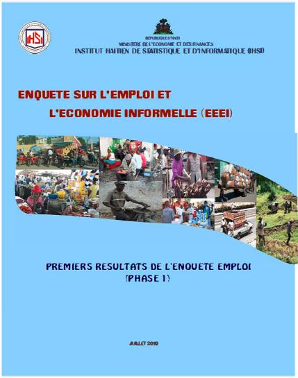 Read more about the article ENQUETE SUR L'EMPLOI ET L'ECONOMIE INFORMELLE (EEEI)