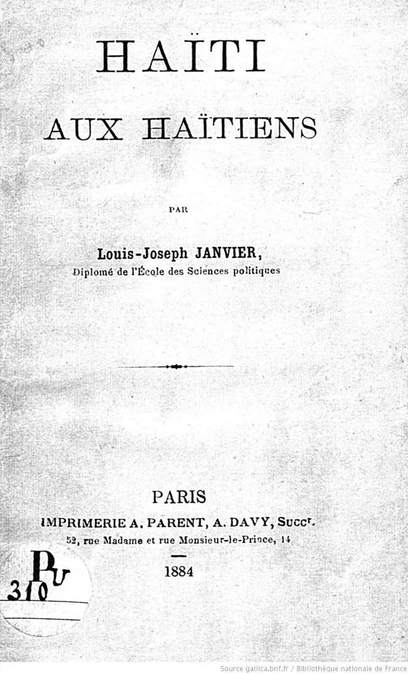 Read more about the article Haïti aux Haïtiens